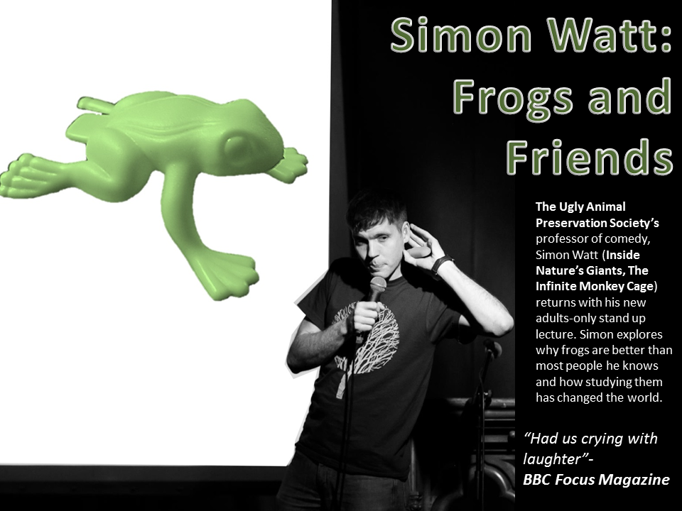Frogs poster blank
